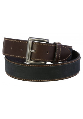 PRINGLE BLK/BRN  SELBORNE BELT