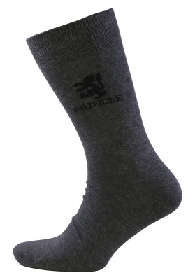 PRINGLE GREY LEO SOCKS