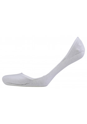 FALKE WHITE INVISIBLE 2PK...