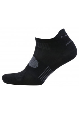 FALKE BLACK HIDDEN DRY SOCKS