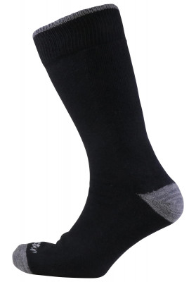 JOCKEY BLACK BIG FOOT SOCKS
