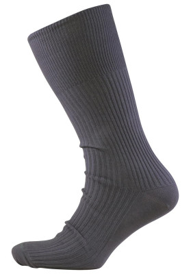 BG GRE SOCK COTTON NON ELASTIC