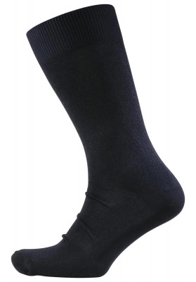 MA  BLK SOCK SHEER PLAIN MILAN
