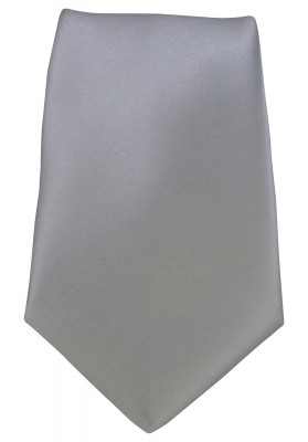 PC  WHT PLN SATIN TIES