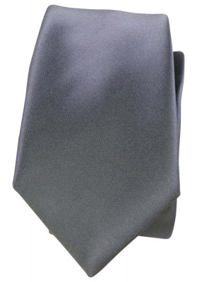 PC  DK GREY PLAIN SATIN TIES