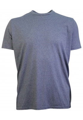 WORN BLUE MALANGE PLAIN TEE