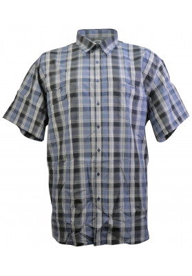 STERLING BLUE/GREY S/S  SHIRT
