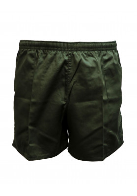 WORN OLIVE RUGBY SHORTS
