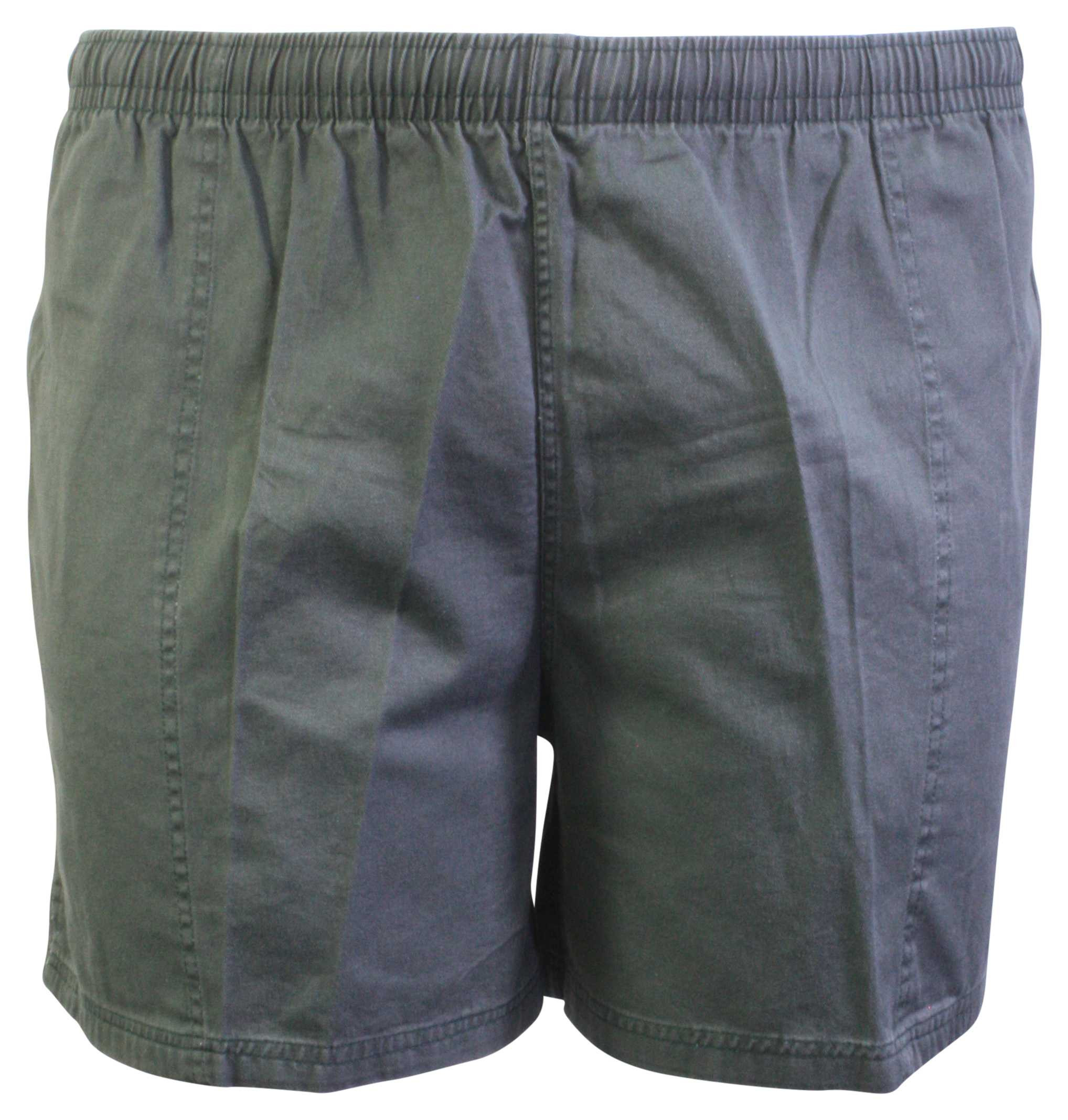 STERLING GREEN RUGBY SHORTS