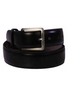 PARIS BLACK PLAIN 35MM BELT