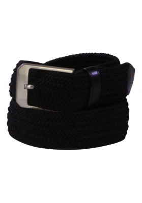 PARIS BLACK ELASTIC BELT