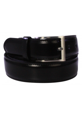 PARIS BLACK HI SHINE BELT