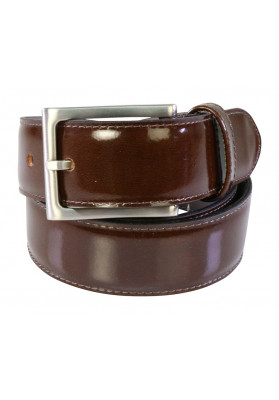 PARIS MAHOGANY HI SHINE BELT
